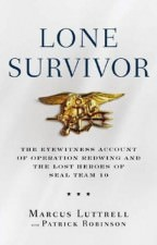 Lone Survivor by Marcus Luttrell and Patrick Robinson 144x225 Book Club