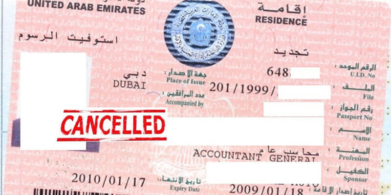 How To Cancel Your Uae Residence Visa 2020